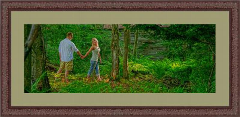 Custom photo framing by Frederick J. Dunn Photography